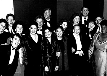Singing Stars of Tomorrow Concert. Glenn Gould Studio, 1993