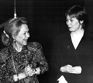 Encounter with Renata Scotto, 1990