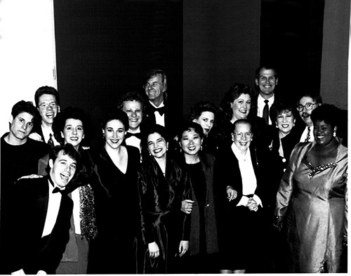 Singing Stars of Tomorrow Concert, Glen Gould Studio. 1993