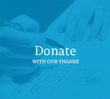 blue donate