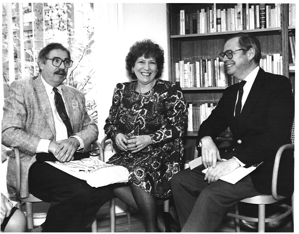 Opera Director, Leon Major; Coach, Joan Dornemann; Toronto Star Critic, William Littler. 1993