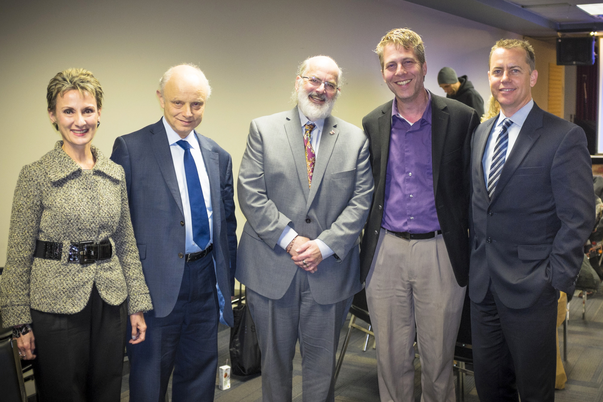 Margaret Lioi, Peter Freeman, Robert Baird, David Cutler, Tim Robinson.