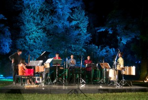 Evening Performances in the main garden